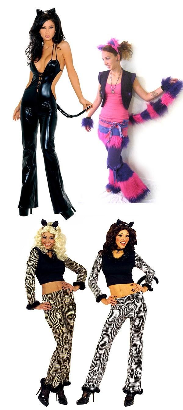 голые девушки в костюмах кошек онлайн