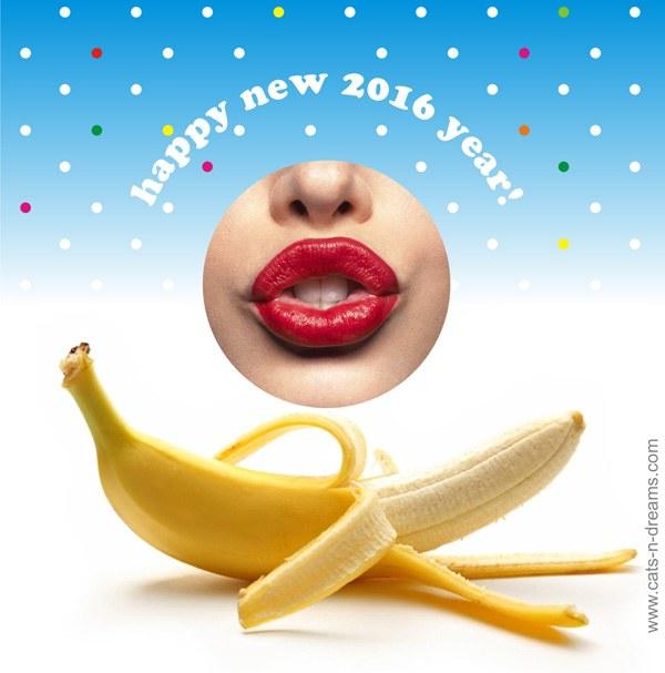 Новогодние открытки секси