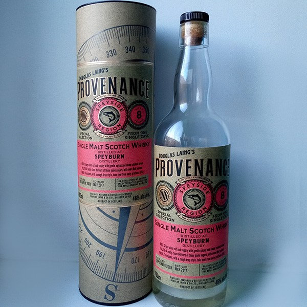 Douglas Laing Provenance Speyburn 8 Year Single Malt Scotch Whisky, Speyside, Scotland