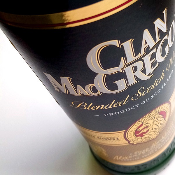 Виски Clan MacGregor Blended Scotch Whisky,