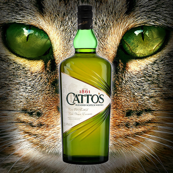 Catto's Rare Old Scottish Blended Scotch: