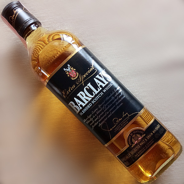 Extra Special Barclays Blended Scotch Whisky: симпатичная чёрная метка