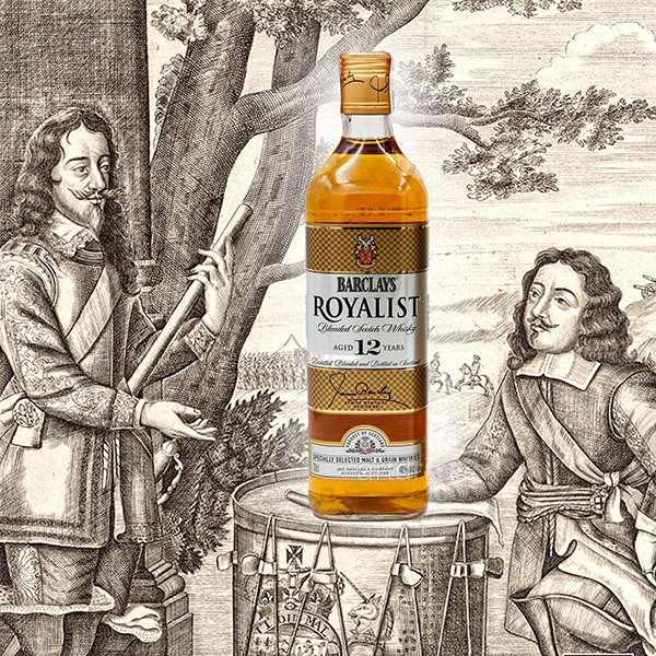Barclays Royalist 12 YO Scotch Whiskey